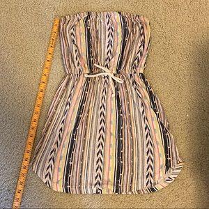 Billabong strapless dress size xs